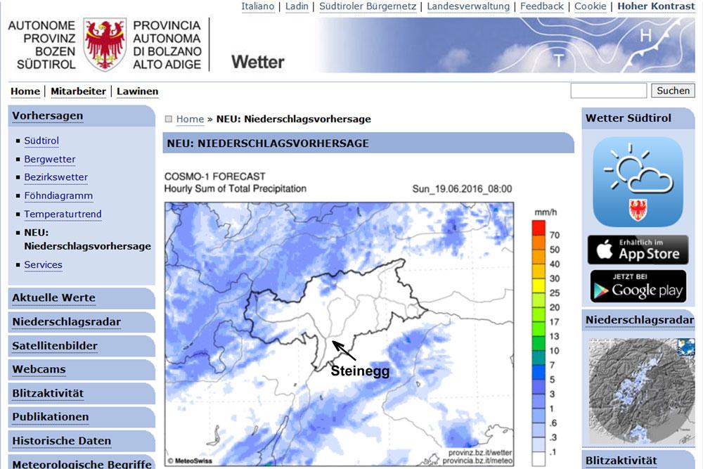 Wetterradar Gießen